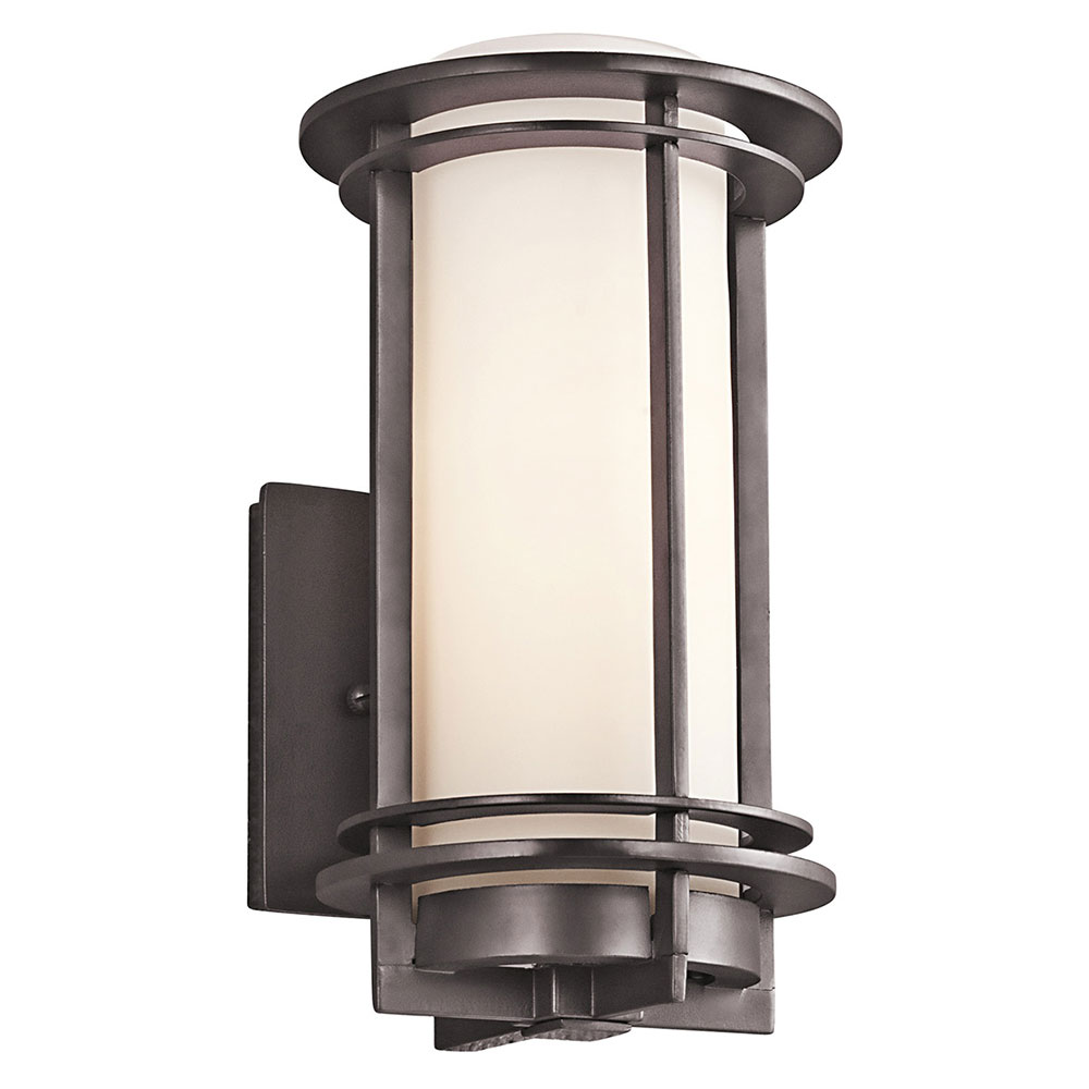 architectural outdoor wall lighting photo - 7