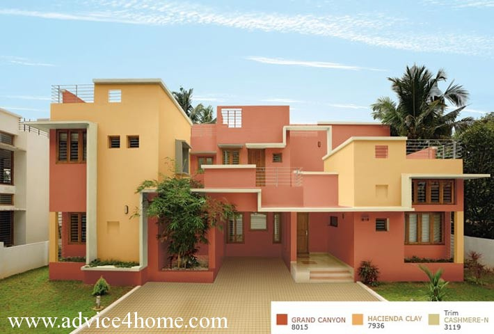 asian paints colour shades for exterior walls photo - 3