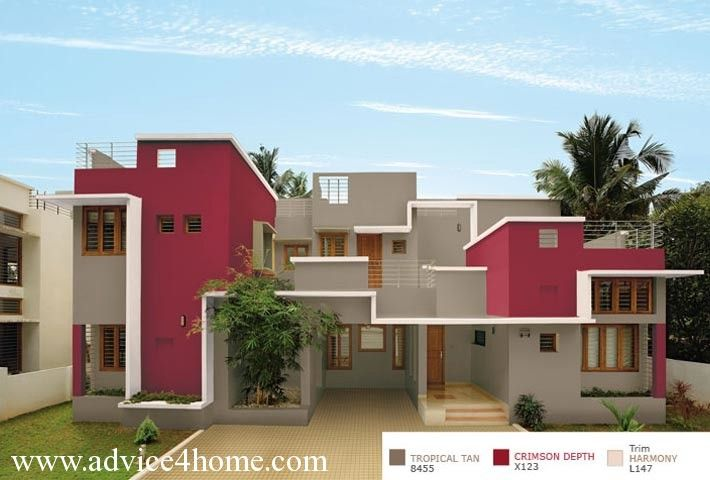 asian paints colour shades for exterior walls photo - 7