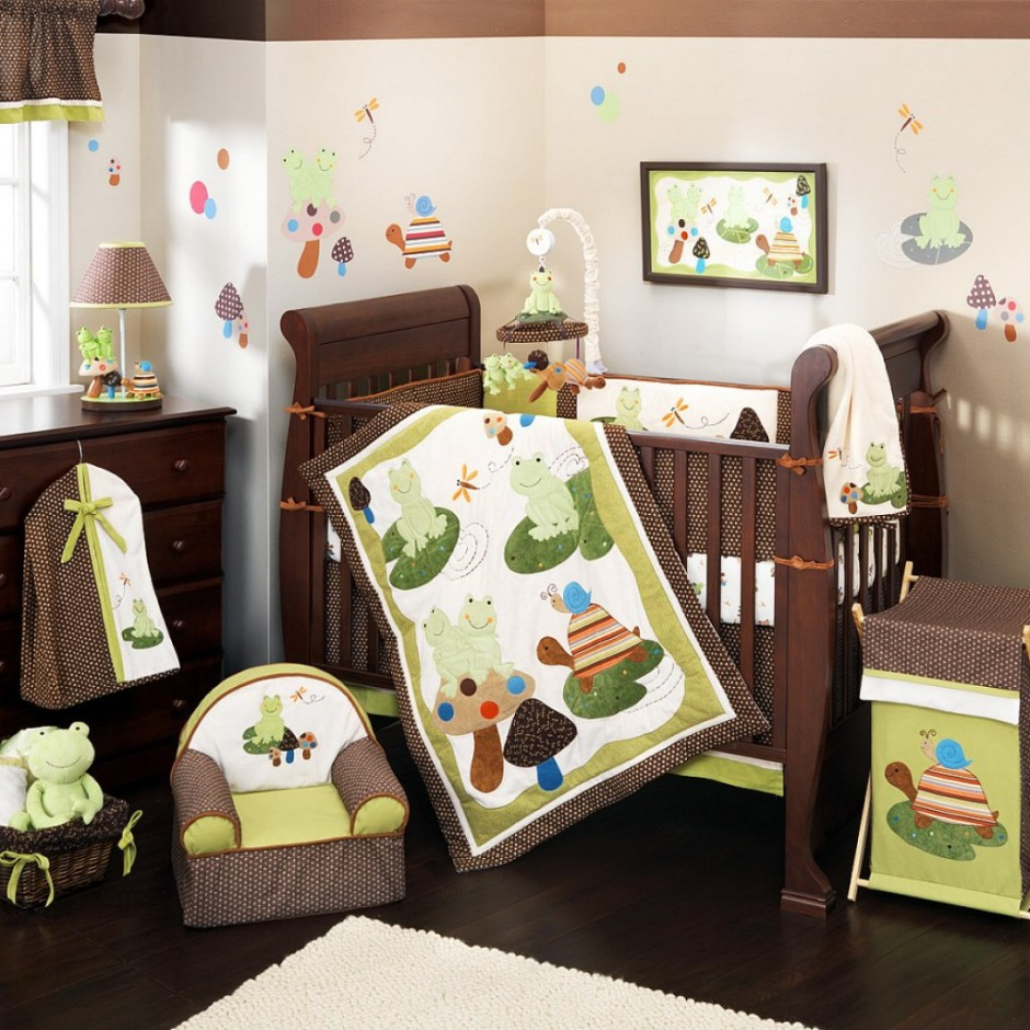 baby boy room with white furniture photo - 10
