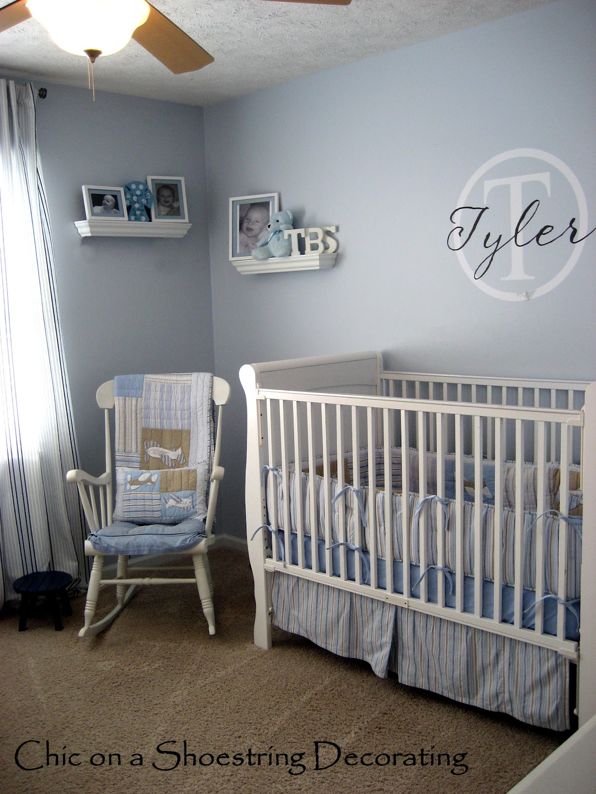 baby boy room with white furniture photo - 6