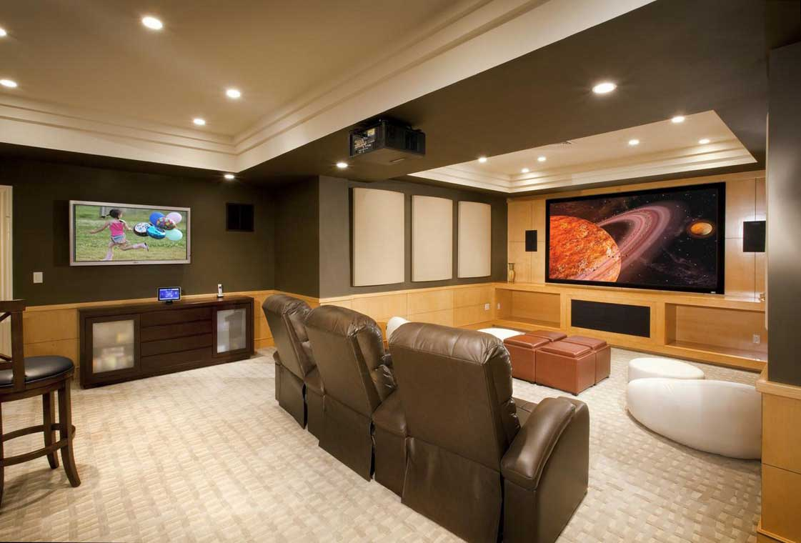 basement remodel ideas plans photo - 10