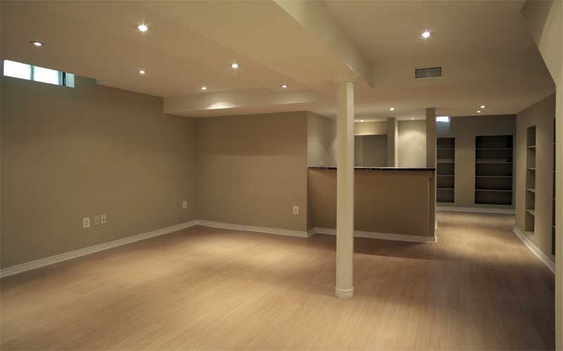 basement remodel ideas plans photo - 3