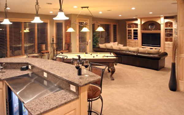 basement remodel ideas plans photo - 5