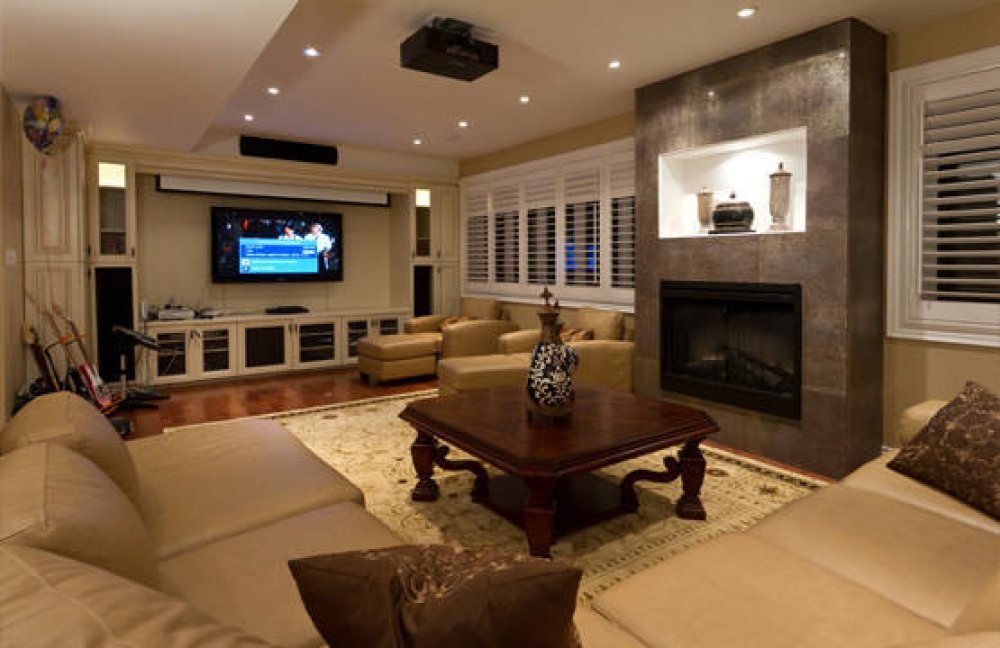 basement remodel ideas plans photo - 9