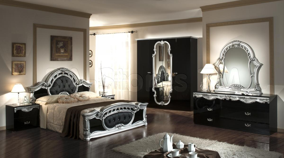bedroom decorating ideas mirrored furniture photo - 9