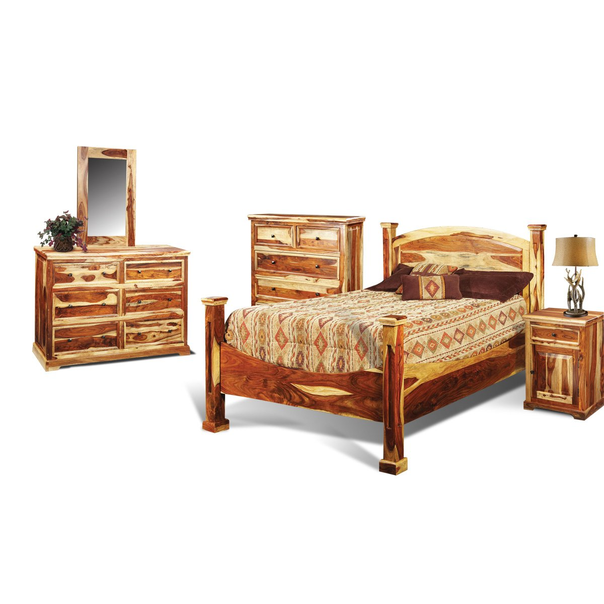 bedroom furniture sets rustic photo - 3