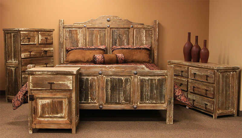bedroom furniture sets rustic photo - 7