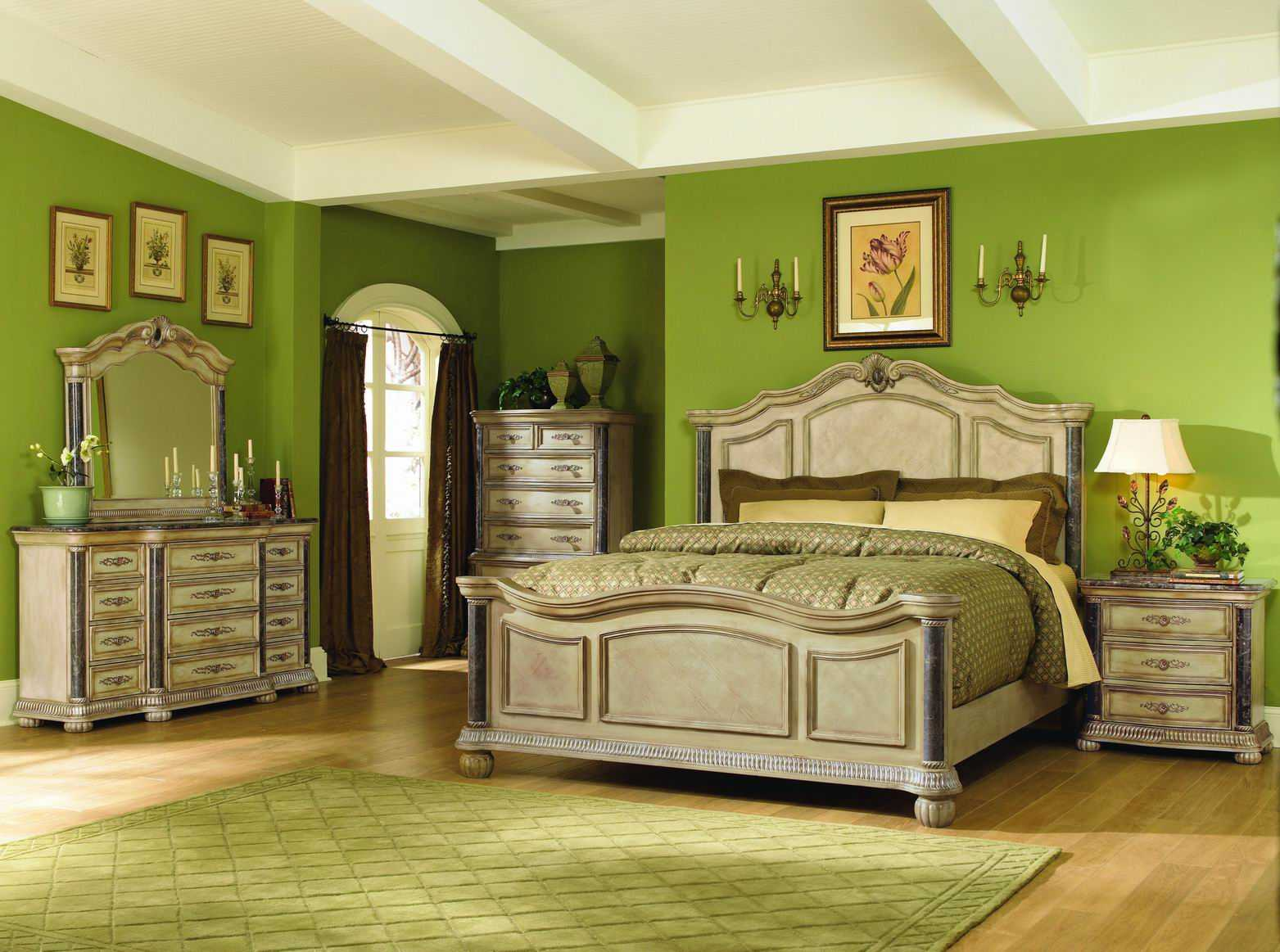 bedroom furniture sets with bed photo - 10