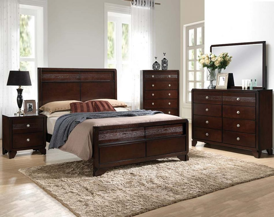 bedroom furniture sets with mattress photo - 10