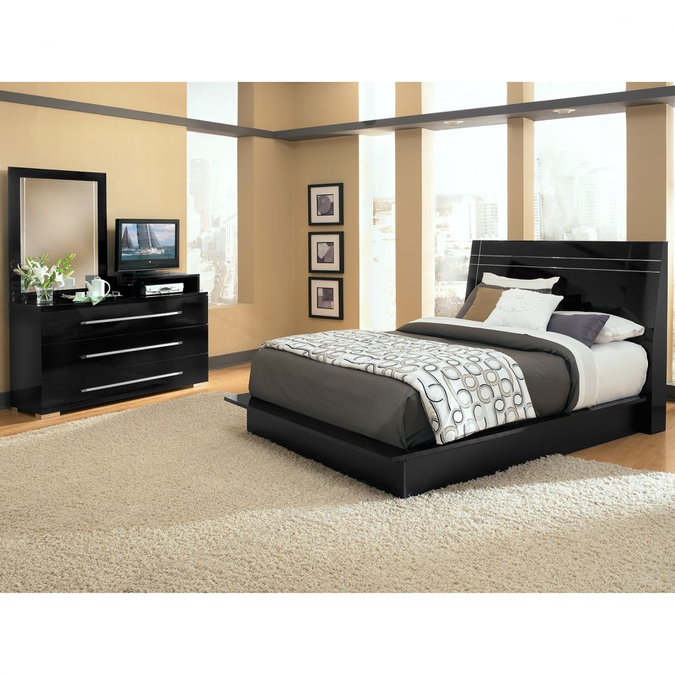 bedroom furniture sets with mattress photo - 9