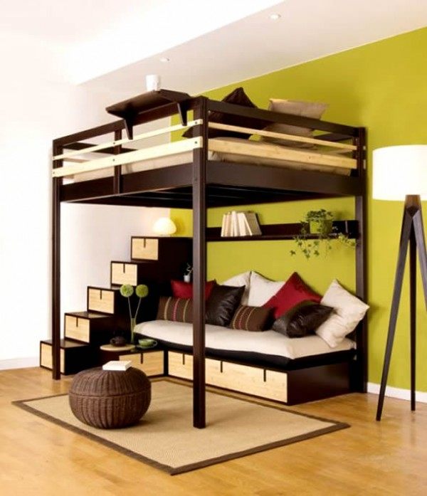 bedroom furniture space saving ideas photo - 4