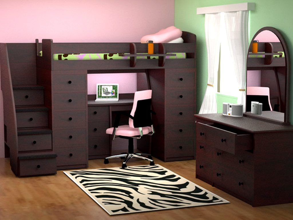 bedroom furniture space saving ideas photo - 5