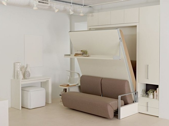 bedroom furniture space saving ideas photo - 7