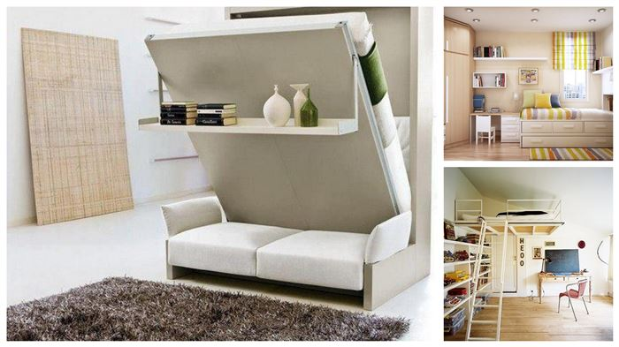bedroom furniture space saving ideas photo - 8