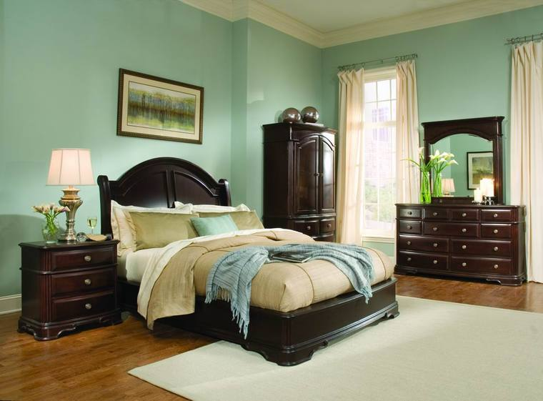 bedroom ideas with brown furniture photo - 10