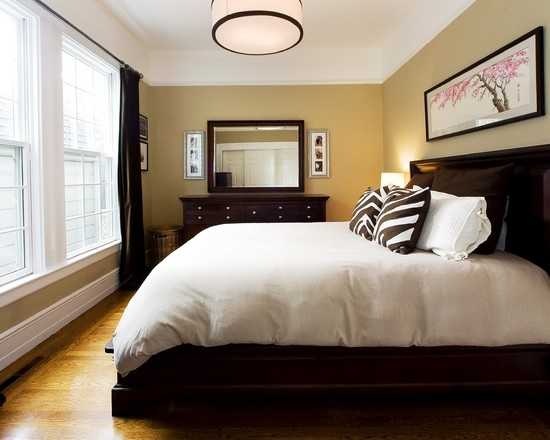 bedroom ideas with brown furniture photo - 6