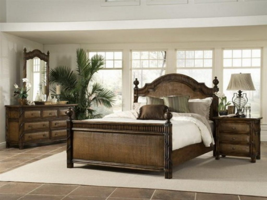 bedroom ideas with brown furniture photo - 7