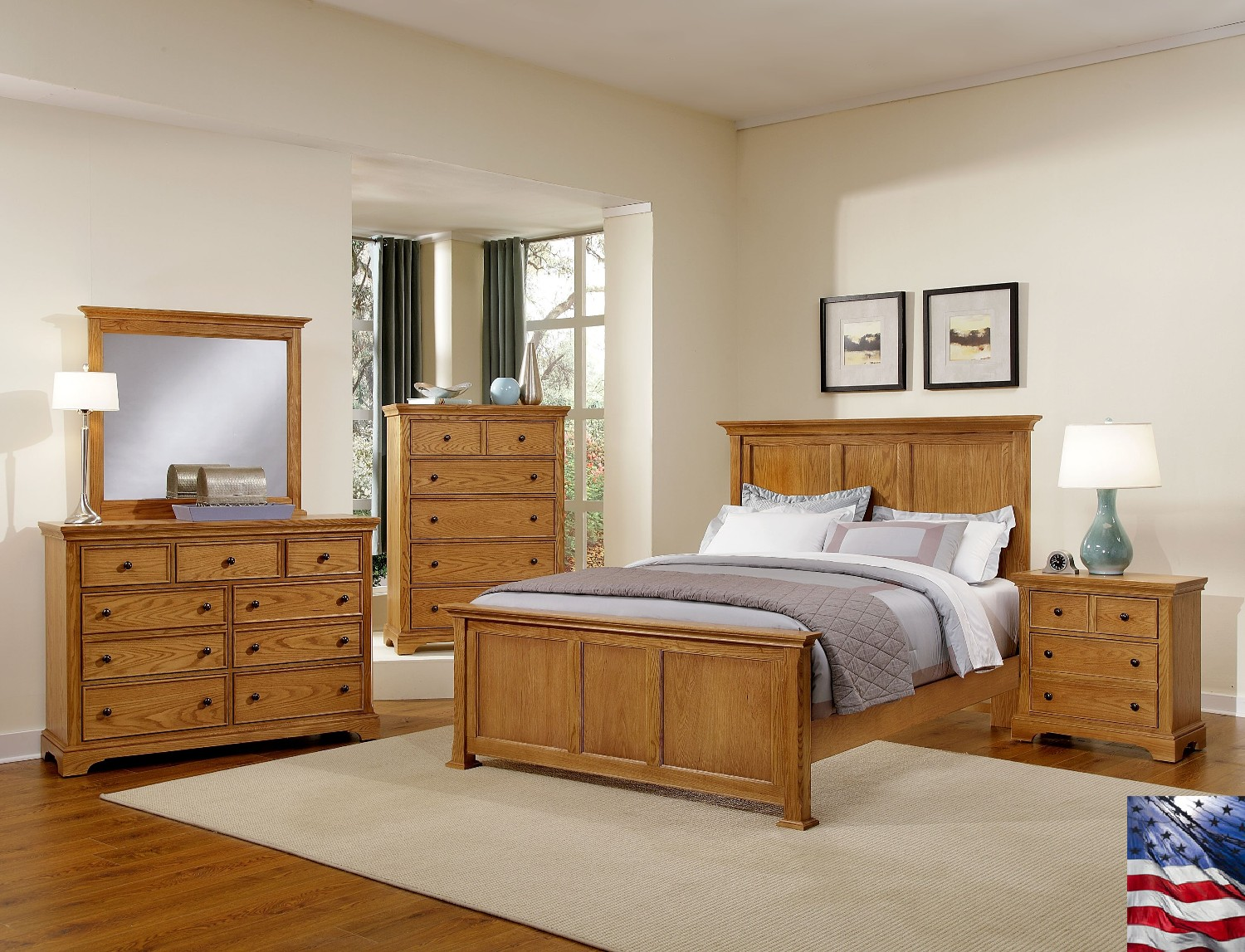 bedroom ideas with brown furniture photo - 8