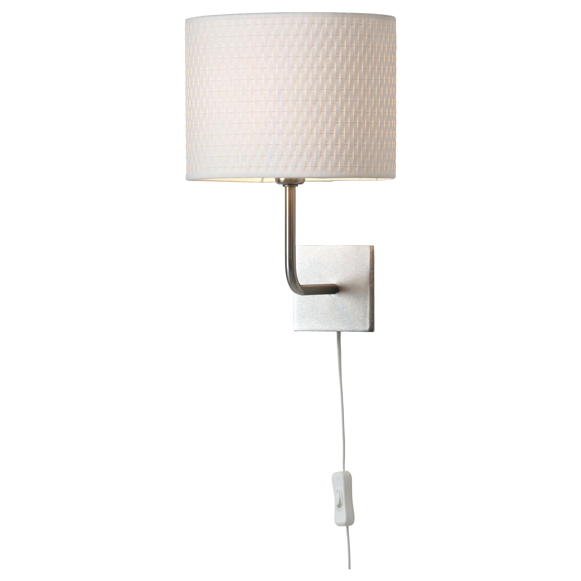 bedroom lamp with reading light photo - 2