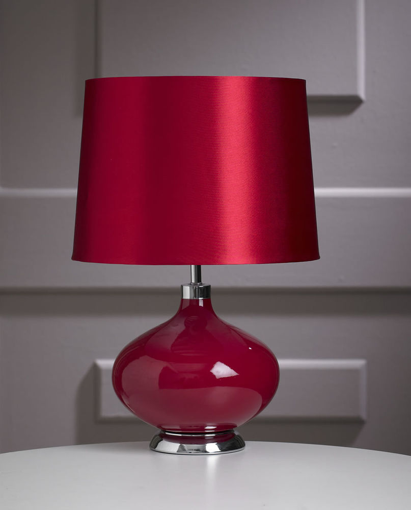 bedroom table lamp height photo - 3
