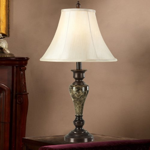 bedroom table lamp height photo - 4