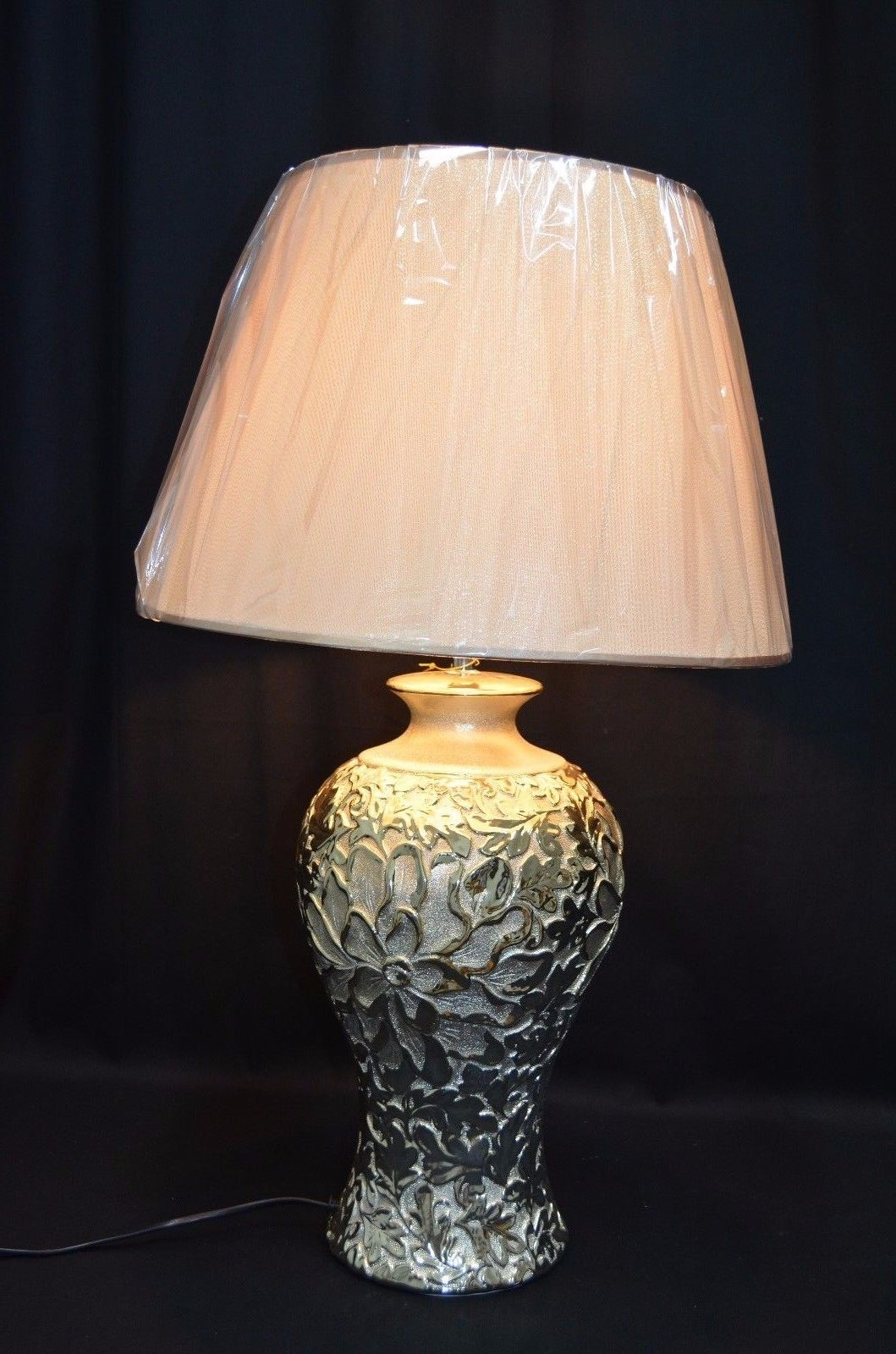 bedroom table lamp height photo - 6