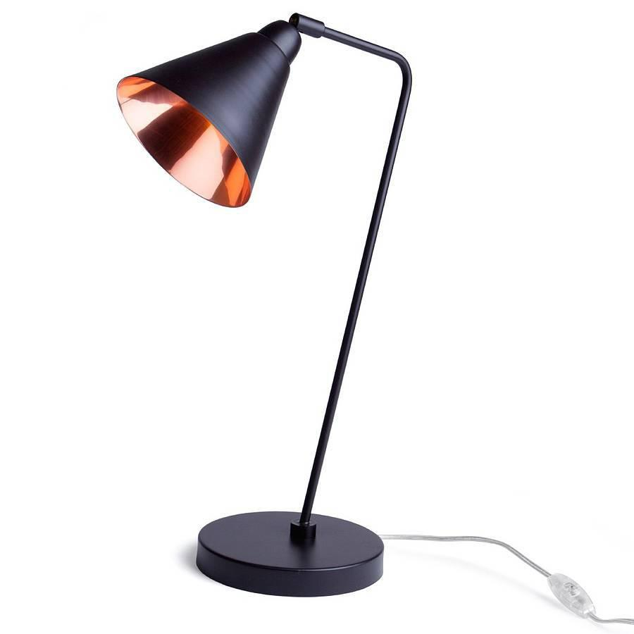 bedroom table lamp height photo - 8