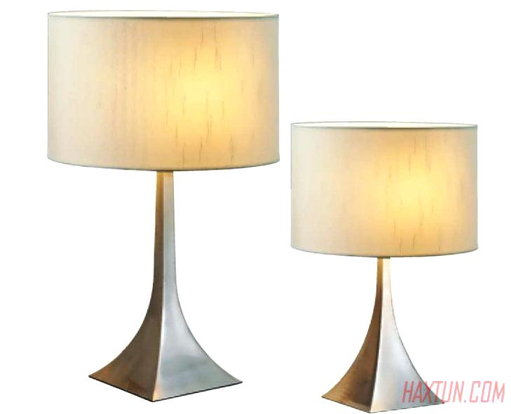 bedroom table lamp height photo - 9