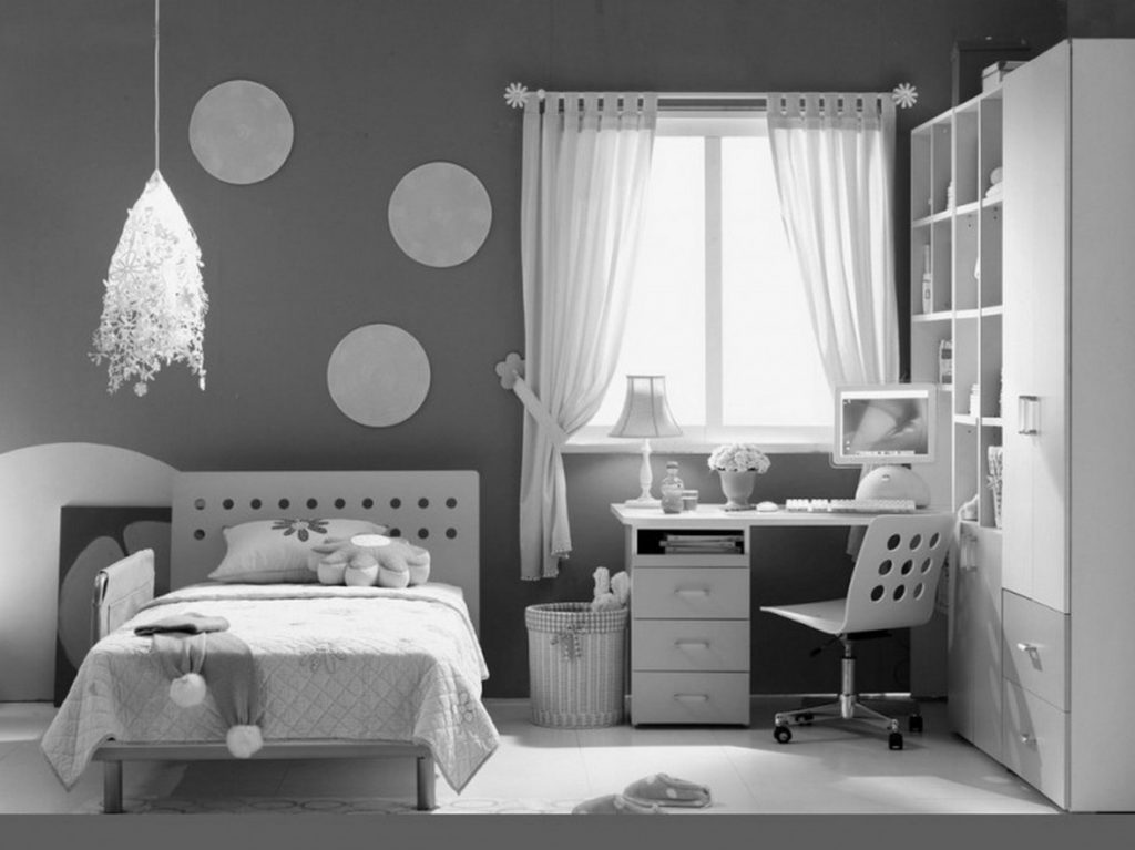 black and white bedroom designs for teenage girls photo - 3