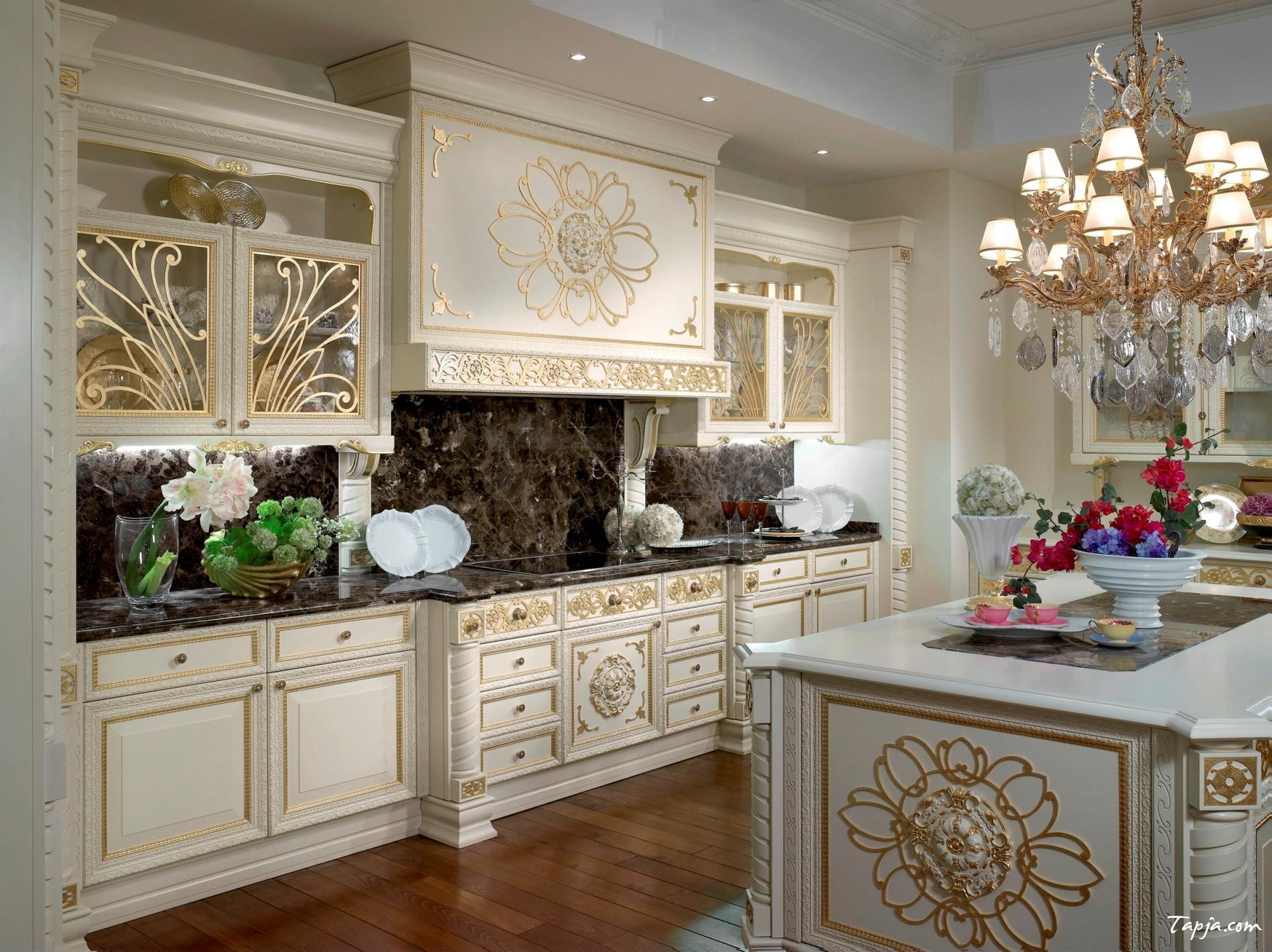 black and white country kitchen designs photo - 1