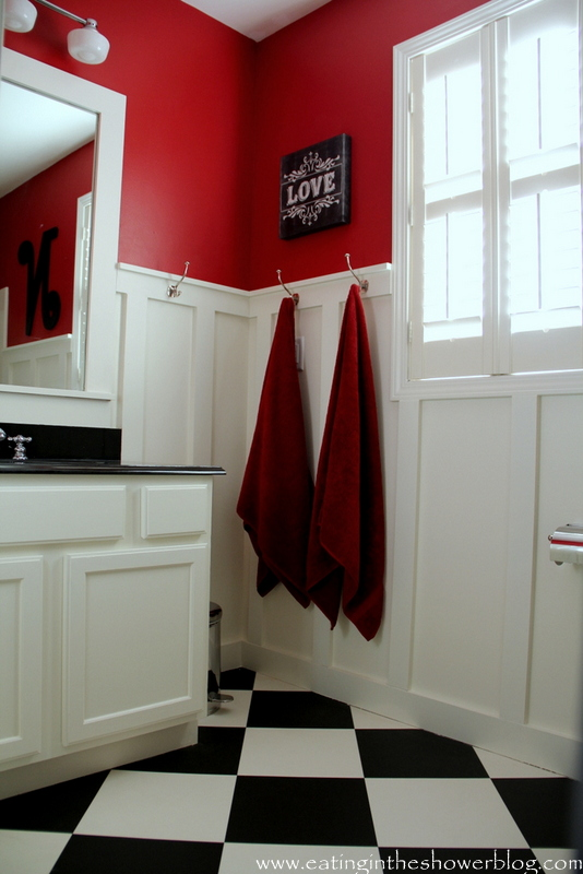 black and white kids bathroom ideas photo - 4