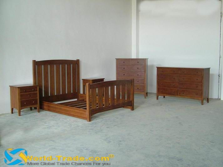 black bamboo bedroom furniture photo - 1