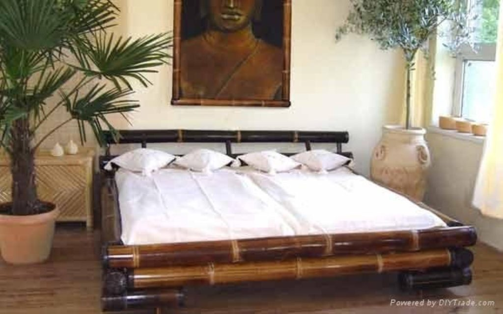 black bamboo bedroom furniture photo - 3