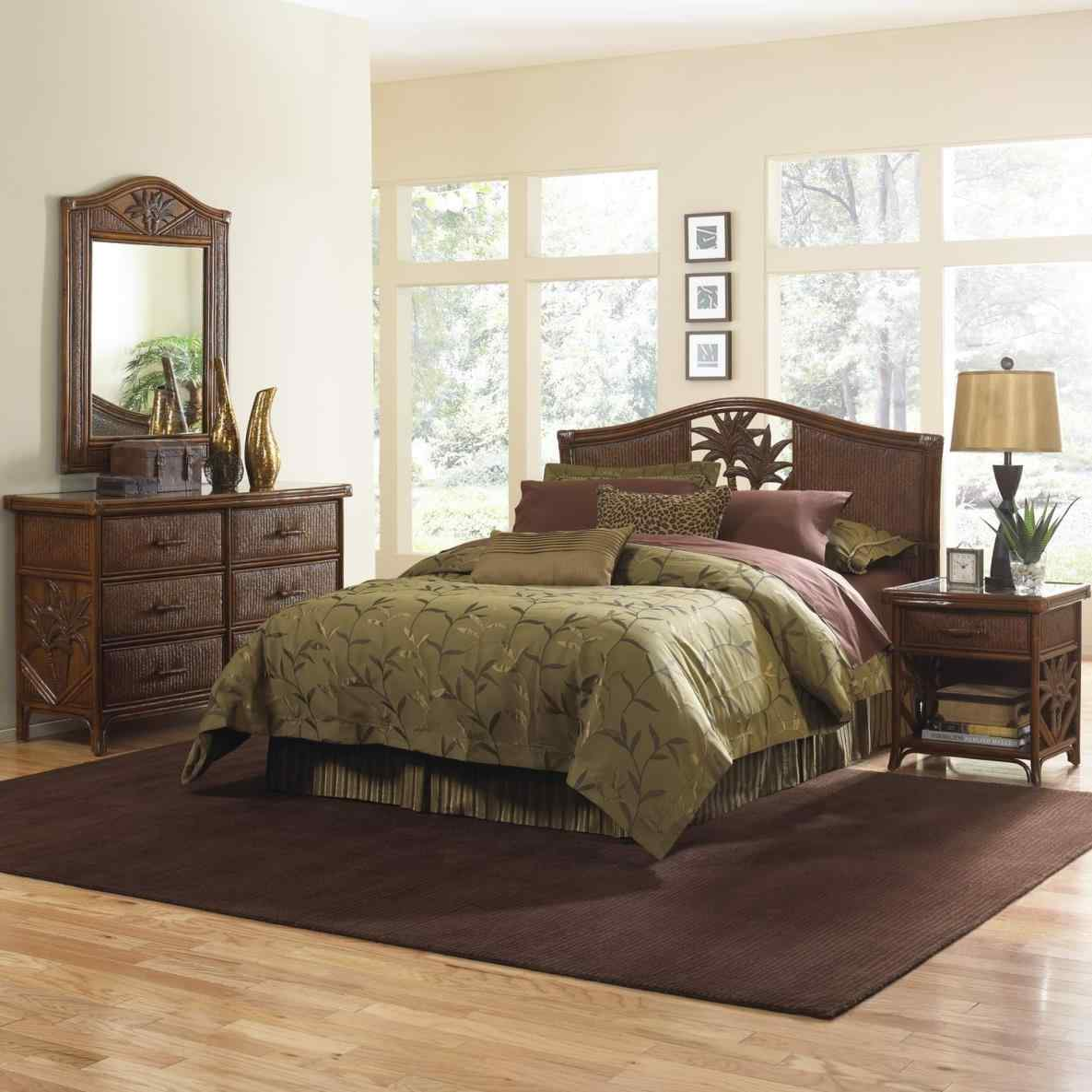 black bamboo bedroom furniture photo - 7