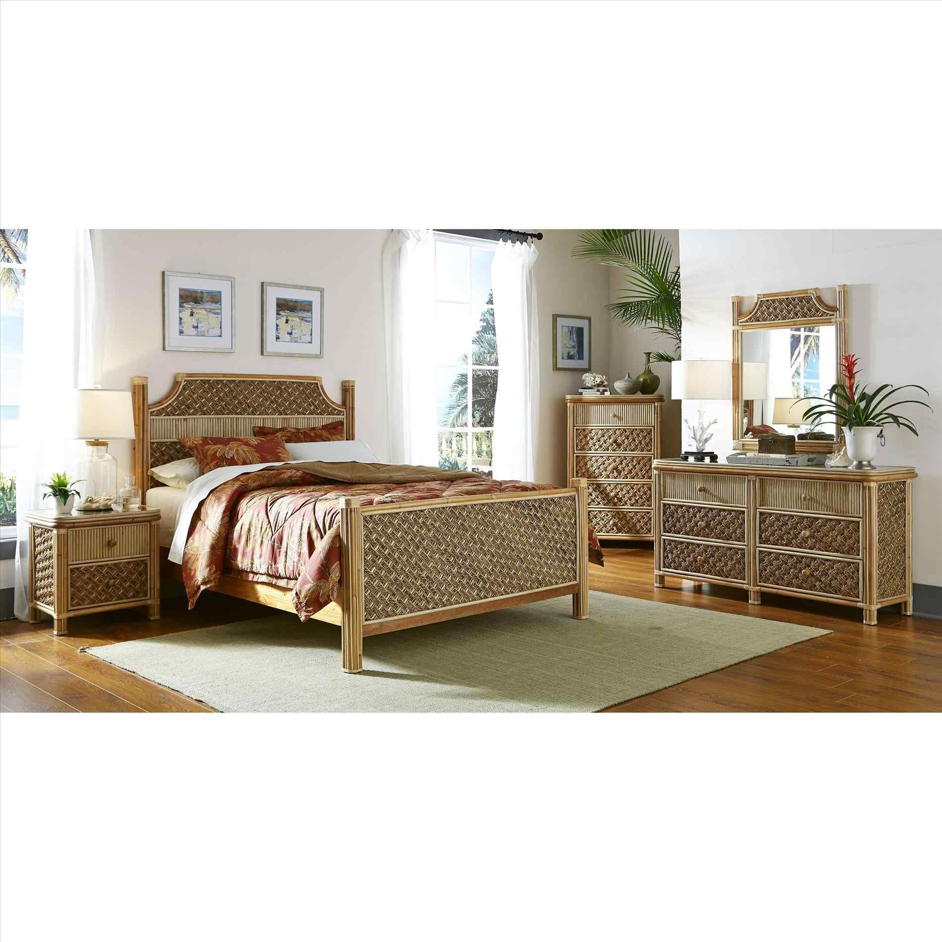 black bamboo bedroom furniture photo - 9