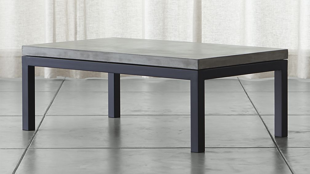 Black granite sofa table – Brooklyn Apartment