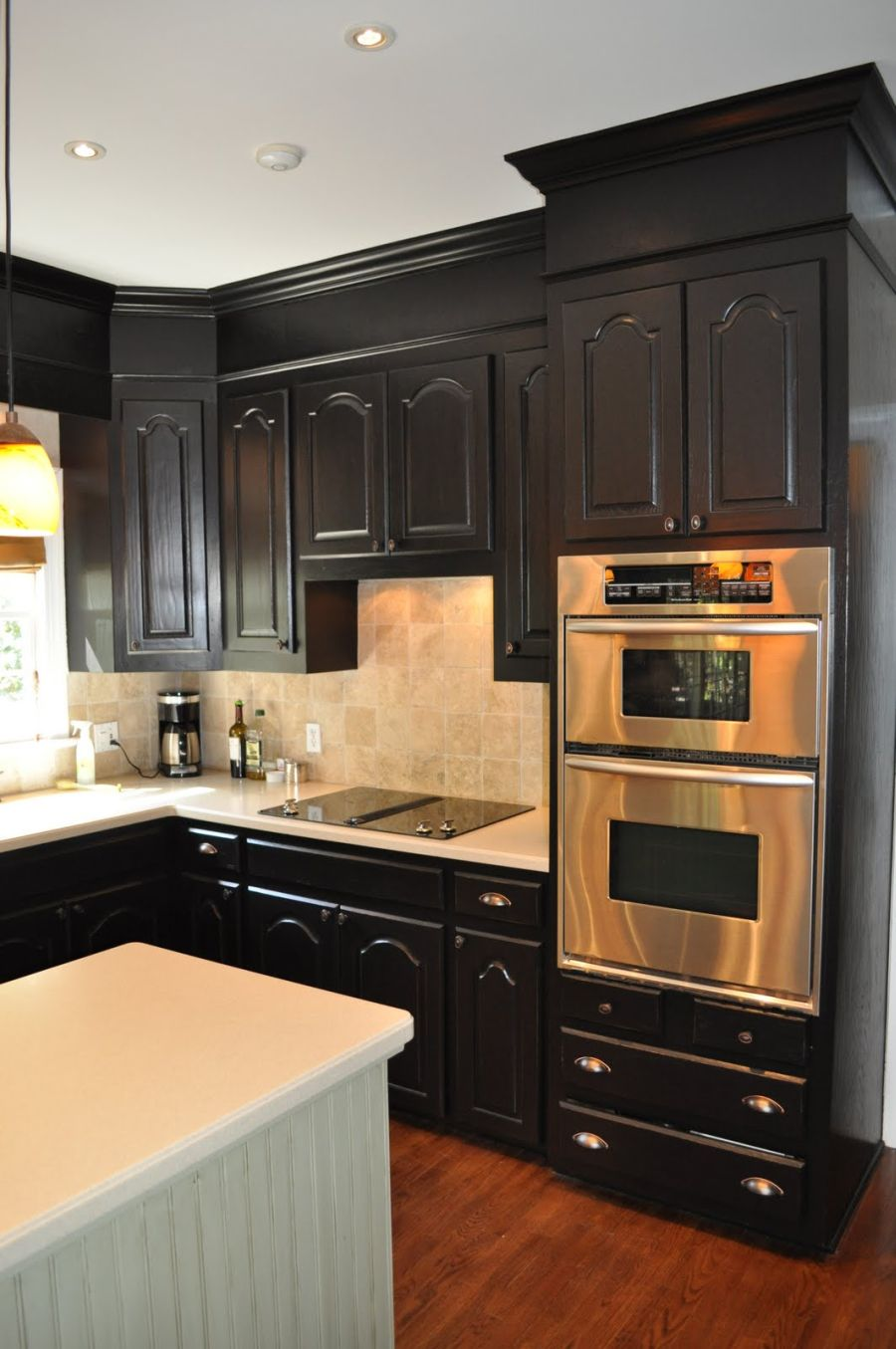 black kitchen cabinets images photo - 1
