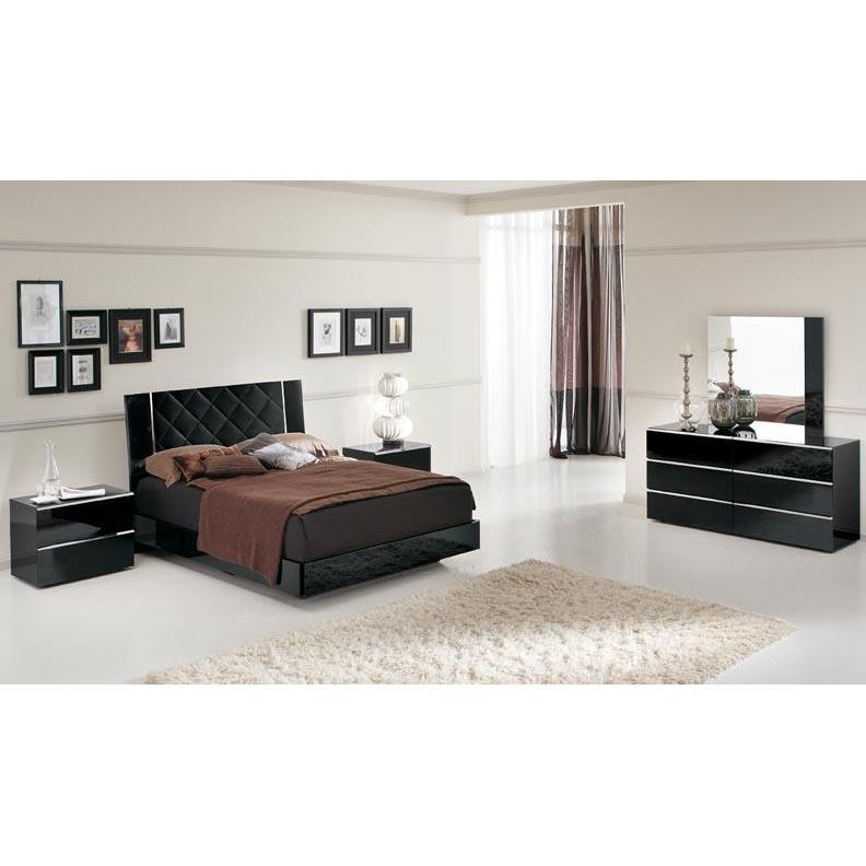 black lacquer bedroom furniture sets photo - 2