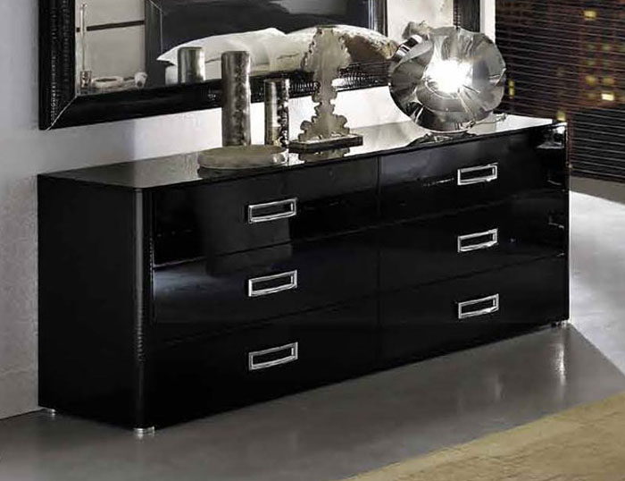 black lacquer bedroom furniture sets photo - 5