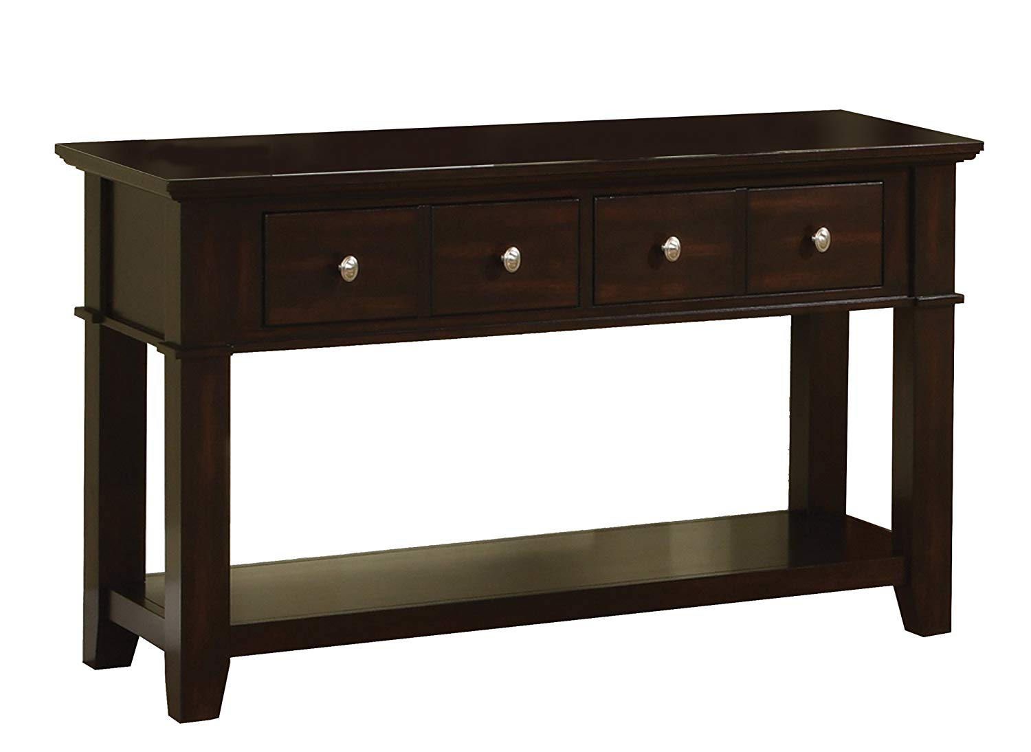 black sofa table photo - 3
