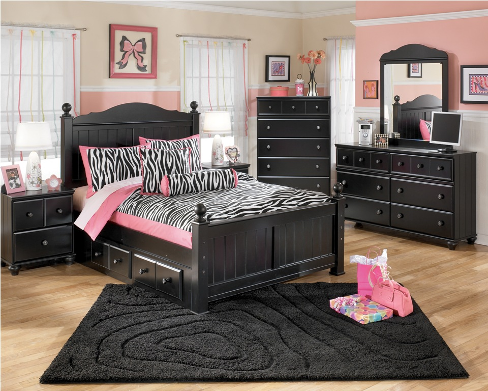 black toddler bedroom furniture photo - 2