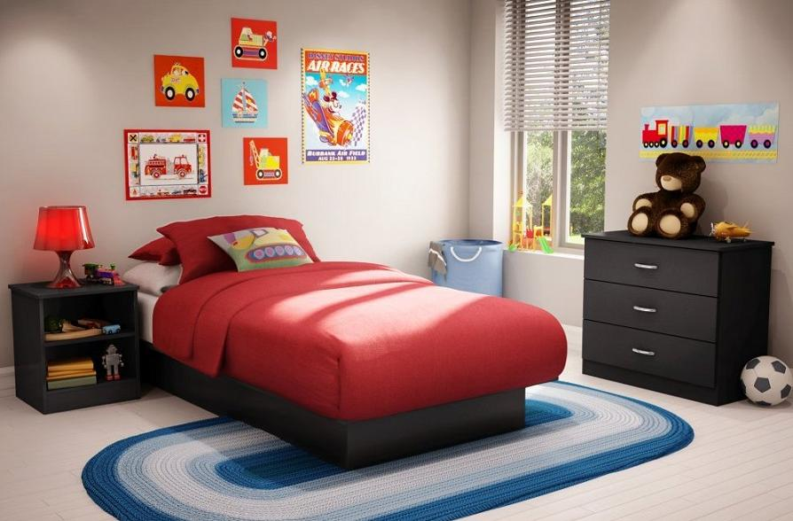black toddler bedroom furniture photo - 4