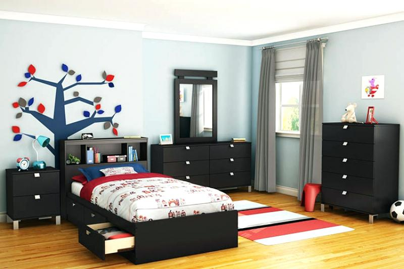 black toddler bedroom furniture photo - 9