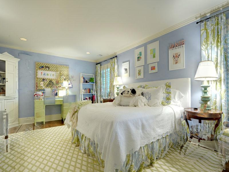 blue and white bedrooms ideas photo - 6