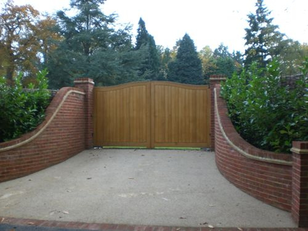 brick entrance designs driveway photo - 1