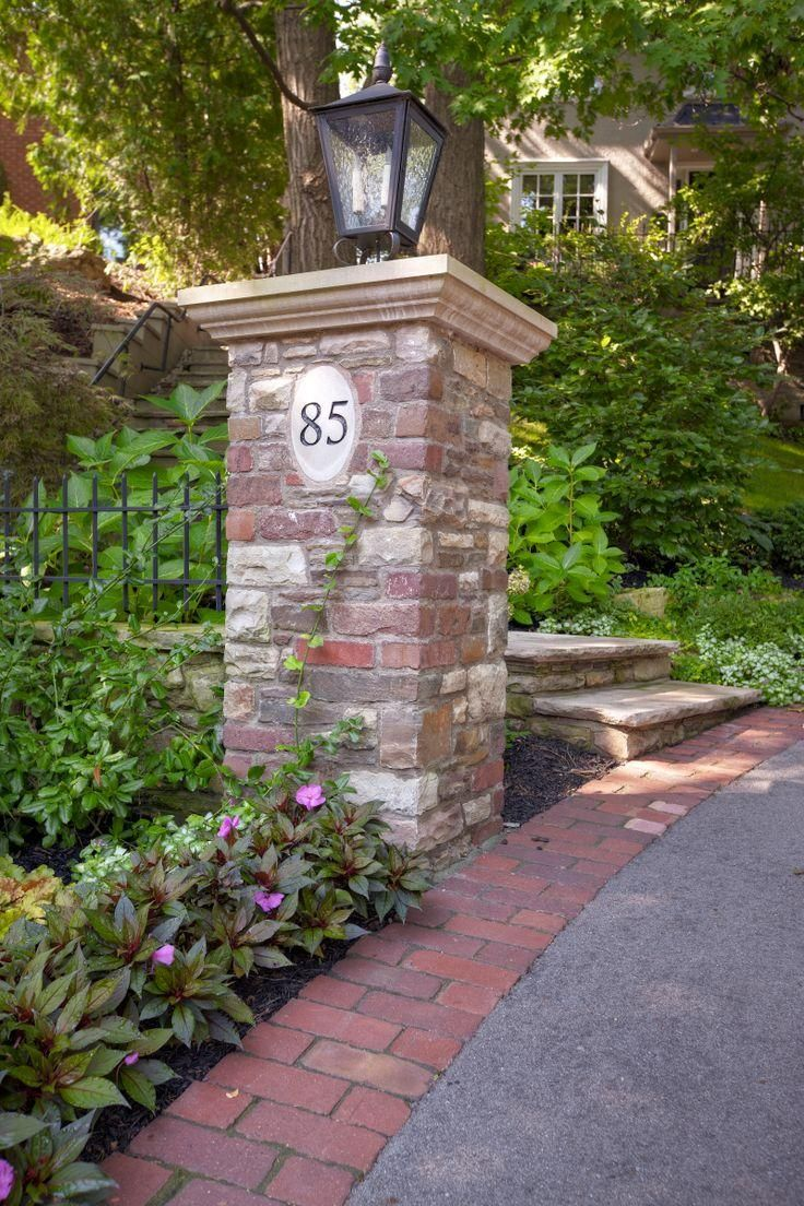 brick entrance designs driveway photo - 10