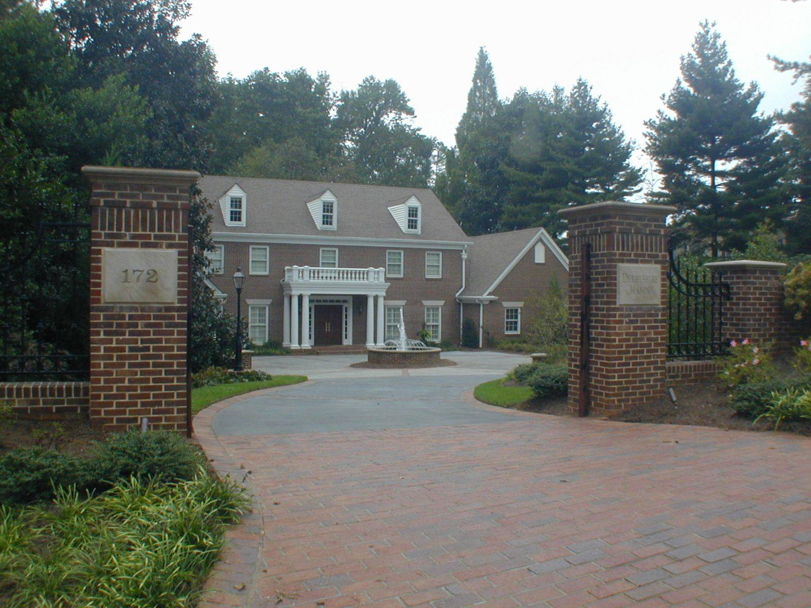 brick entrance designs driveway photo - 4