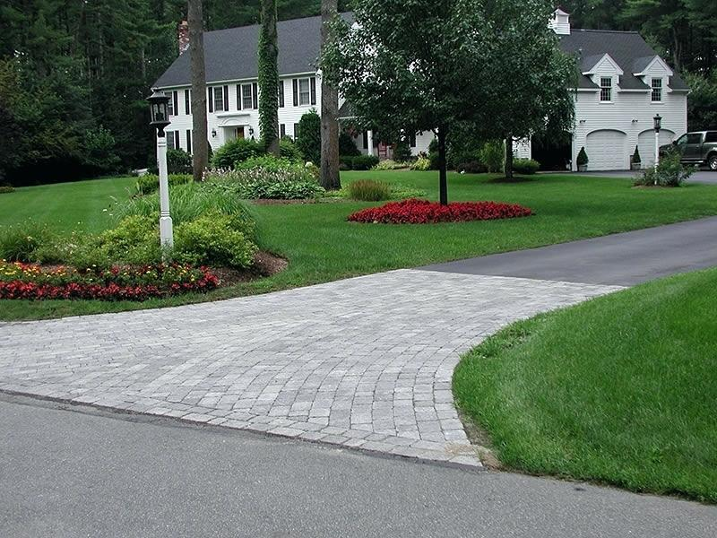 brick entrance designs driveway photo - 6
