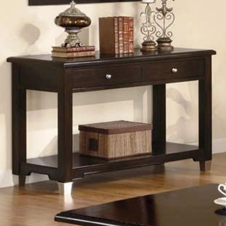brown black sofa table photo - 7